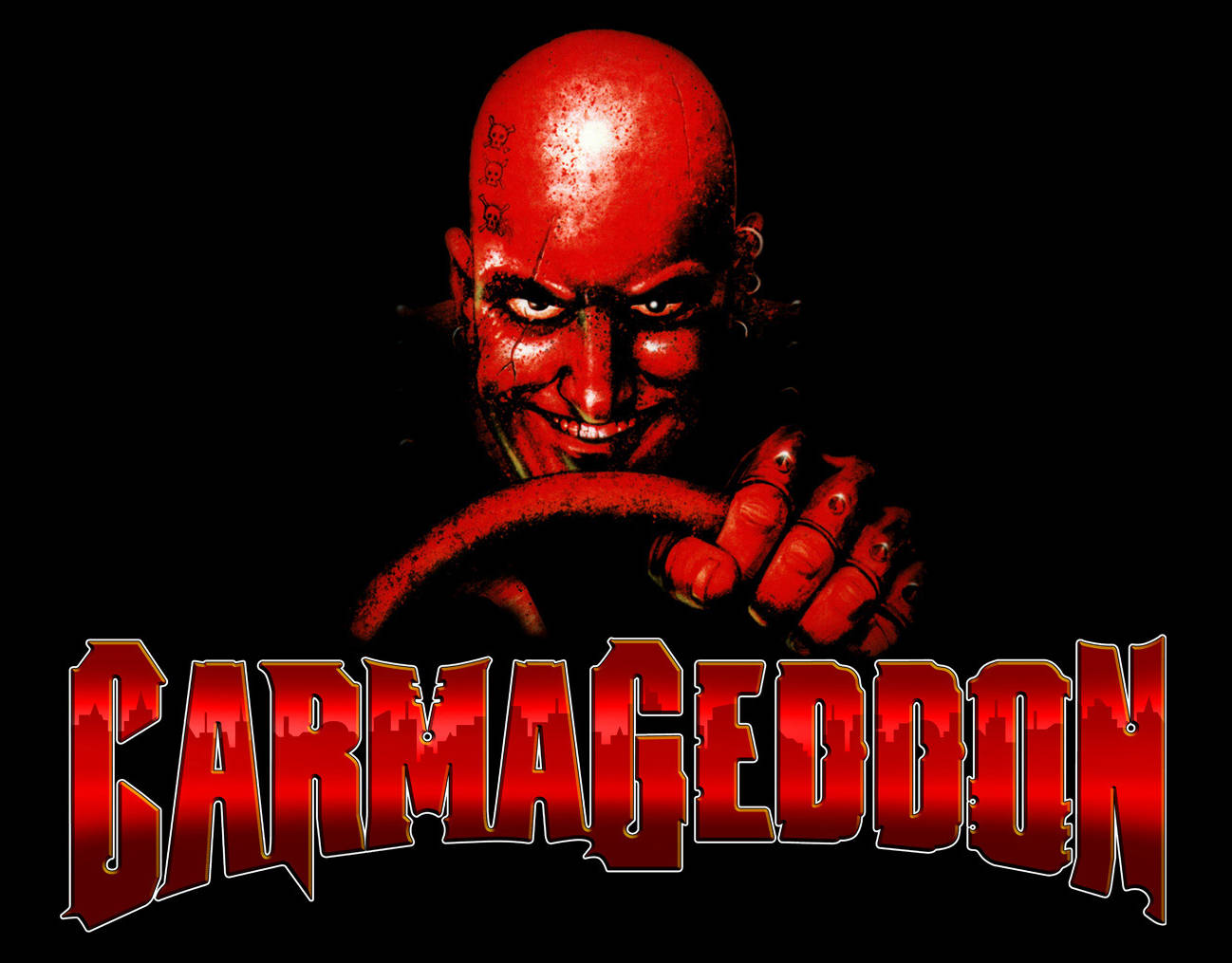 Carmageddon title screen
