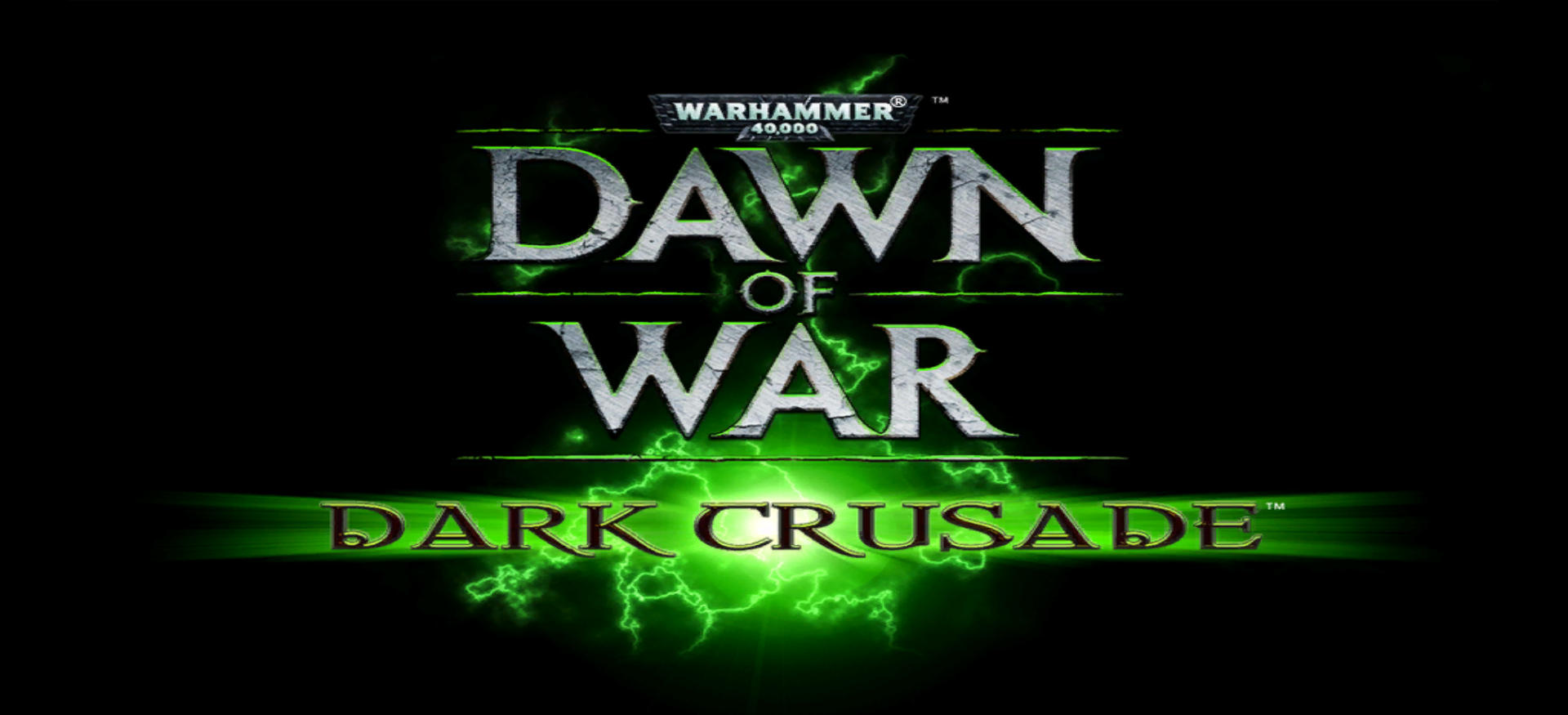 Dark Crusade title screen