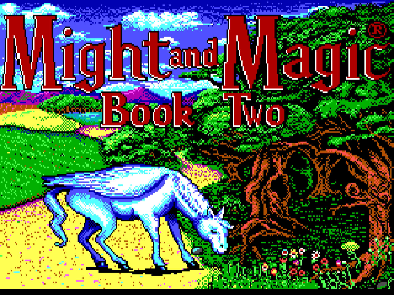 Might and Magic 2 title screen