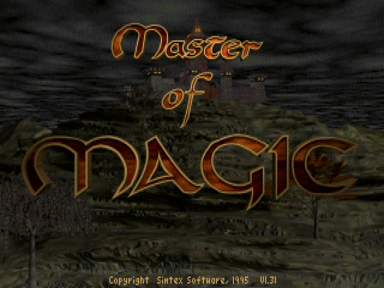 Master of Magic title screen